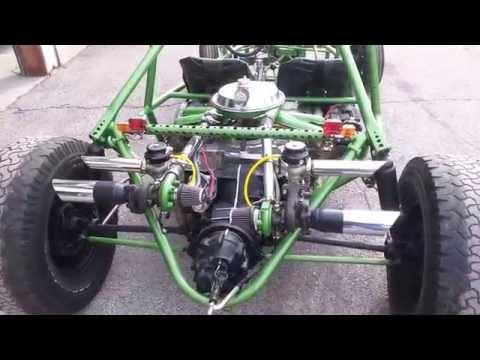 Twin turbo mid engine dune buggy sand rail