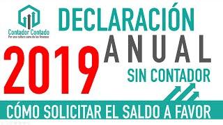 Devolución de Impuestos 2019 | Declaración Anual Personas Fisicas 2020 | DeclaraSAT