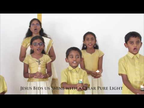 Telugu Sunday School Song  - Jesus Bids Us Shine (Prakashinchudi ) -Tranquil Tidings (HD)