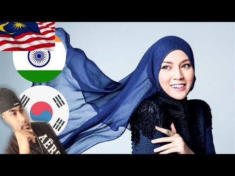 SHILA AMZAH - BOLE CHUDIYA (Bollywood), Let It Go, KPOP | INDIAN REACTS TO MALAYSIAN VID| Aalu Fries