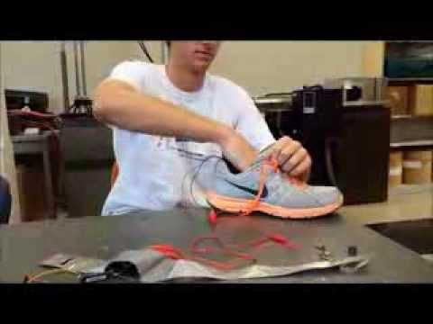 Piezo Electric Battery Charging Shoe