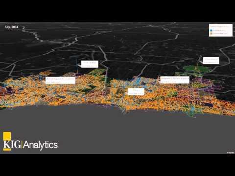 KIG Analytics - Chicago Crimes Heat Map