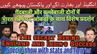 Why Eng&India are at top | Special Show with Stats | What Pakistan Lacks | BolWasim |