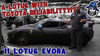 How can this 2011 Lotus Evora be as reliable as a Toyota?!?