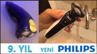 PHİLİPS s5080/03 Tıraş makinesi Kutu açılımı vs Eski Philips