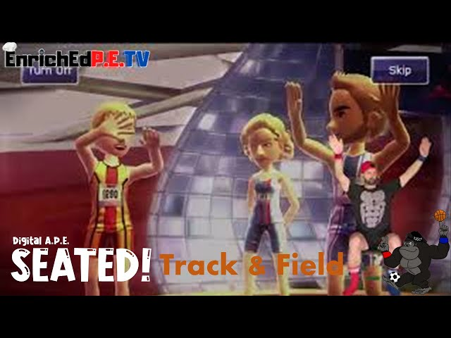 Digital A.P.E.: SEATED! S3E1 Track & Field - OPENING CEREMONY
