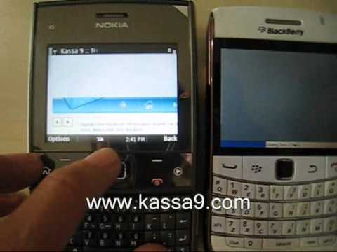 Nokia X5 vs Onyx Browser Fighting Wi Fi