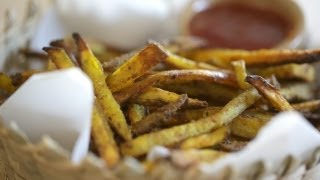 Baked Curry Fries Recipe || Kin Eats