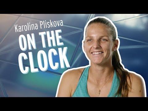 On The Clock: Karolína Plíšková 2018 US Open Tennis