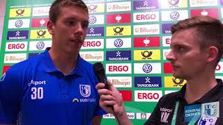 Stimme nach dem Spiel 1. FC Magdeburg gegen SV Darmstadt 98 mit Alexander Brunst