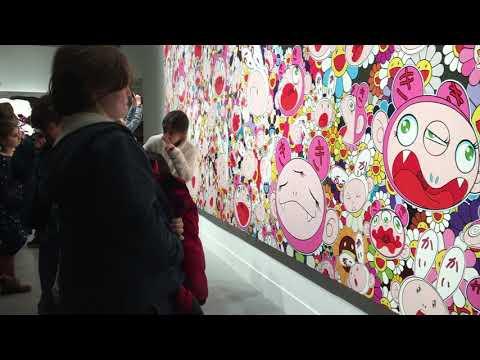 Boston Museum of Fine Arts (MFA) | Takashi Murakami exhibit