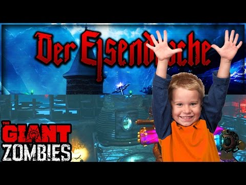 ROUND 65+ 'THE GIANT' + 'DER EISENDRACHE' EASTER EGG W/ A NOOB! - BO3 Zombies [Livestream Replay]