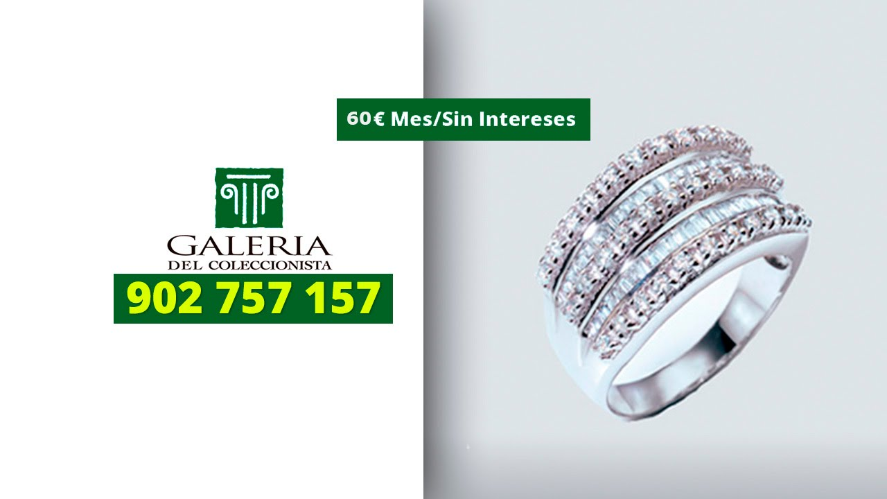 Anillo tiara real 902757157 youtube for Galeria del coleccionista vajillas