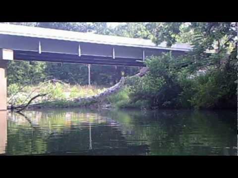 Ten Mile Creek Fishing 5-20-12 Part 1