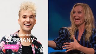 Norwegian TV about Germany's Eurovision song | Jendrik - I Don't Feel Hate | Eurovision 2021
