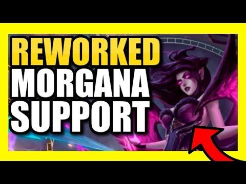 *NEW* MORGANA GAMEPLAY! | FULL GAMEPLAY OF REWORKED MORGANA! | Morgana Support PBE Season 9