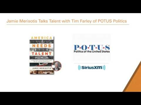Jamie Merisotis Talks Talent with POTUS Politics