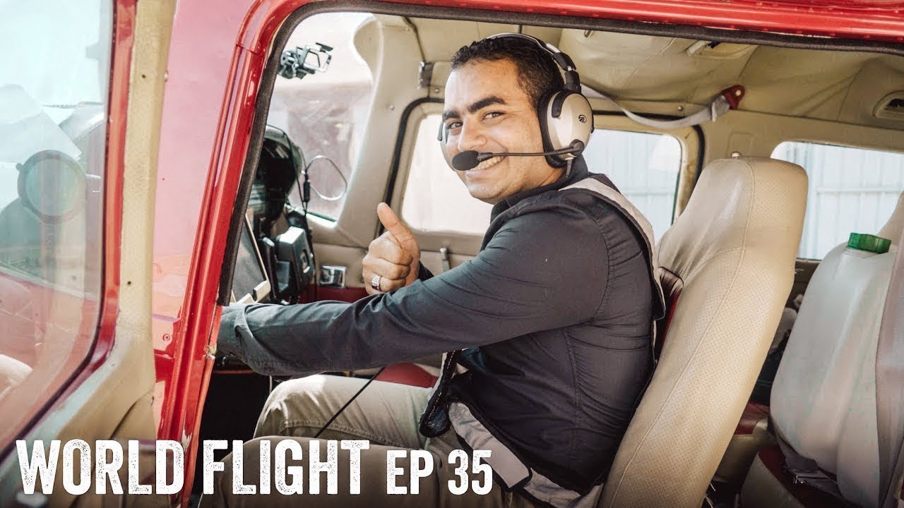 WE HAVE A NEW PILOT? - World Flight Episode 35
