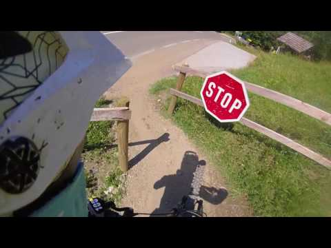 Downhill Schladming WC track 2017