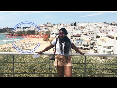 SOLO TRAVELLING VLOG |PORTUGAL| ALBUFERIA (DAY 1-3)