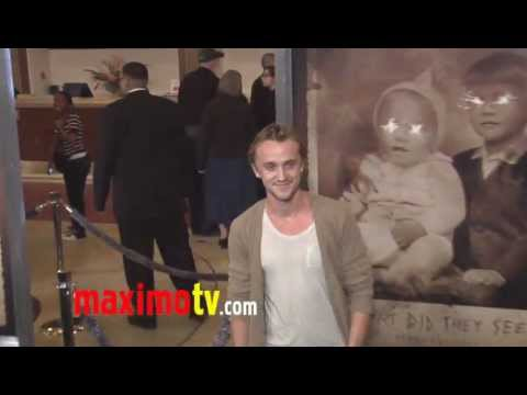 "Tom Felton at ""The Woman in Black"" Los Angeles Premiere ARRIVALS"