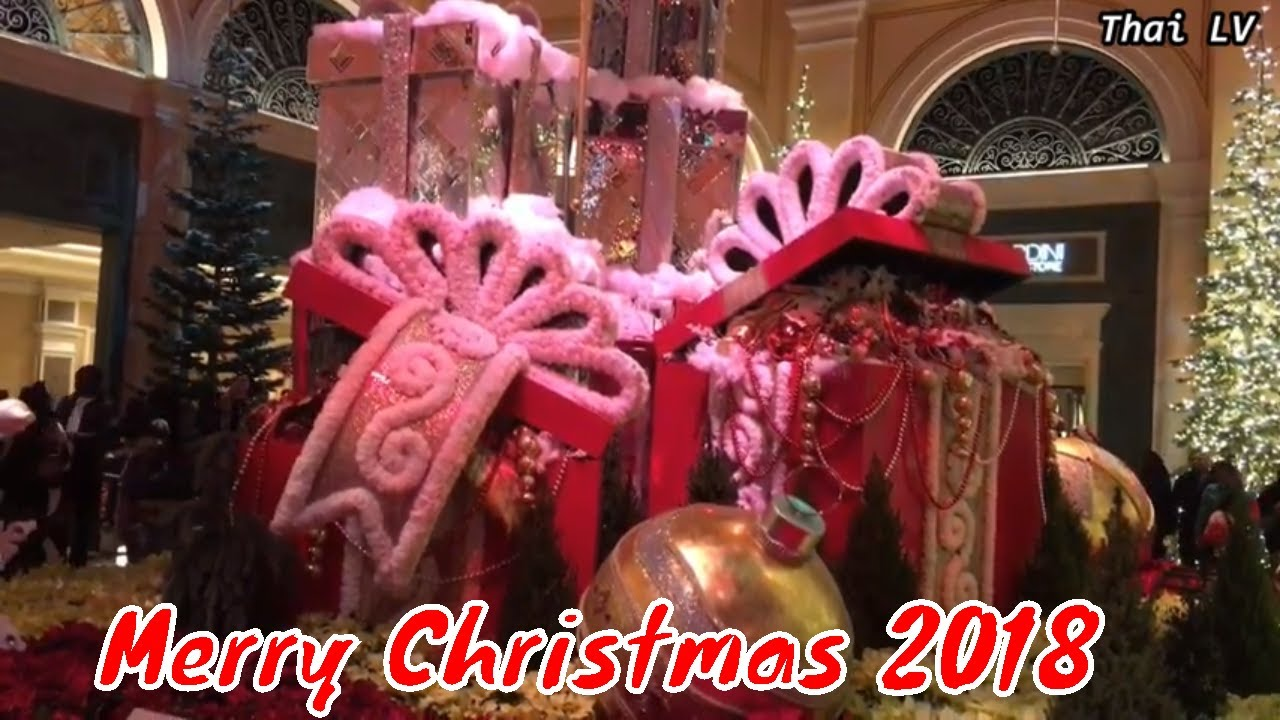 The Best Christmas Decorations 2018 in Las Vegas - YouTube