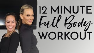 12 Minute Full Body Workout | Molly Sims