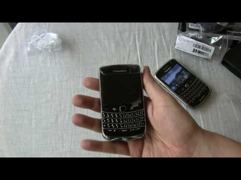 Blackberry Bold 9700 Unboxing und Kurztest (deutsch)