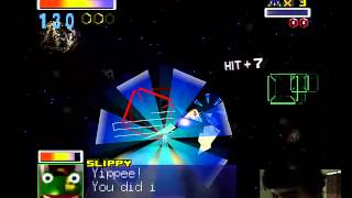 ♣ Star Fox 64 Gameplay Parte 2 - Camino Fácil - Meteo Asteroid Field ♣