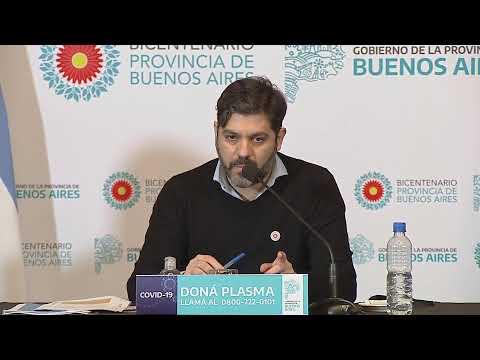 VIVO | Informe sobre la situación epidemiológica en la Provincia