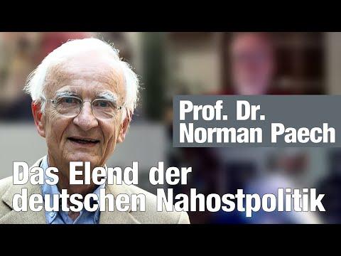 Das Elend der deutschen Nahostpolitik   Prof. Dr. Norman Paech