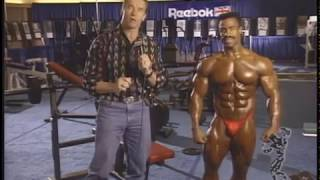 Arnold Explains What the Judges are Looking for with Mike Ashley in 1992