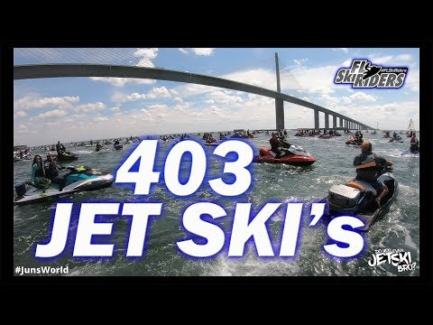 Jet Ski Invasion Egmont Key/ Florida Ski Riders Skyway