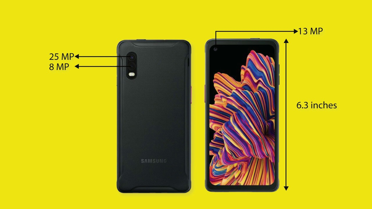 Samsung galaxy Xcover Pro - A removable battery flagship phone?