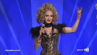 Jinkx Monsoon performs at the #glaadawards