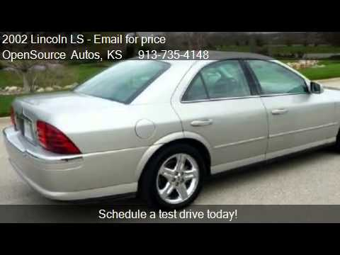 2002 lincoln ls v8 sport for sale in bucyrus ks 66013 youtube. Black Bedroom Furniture Sets. Home Design Ideas