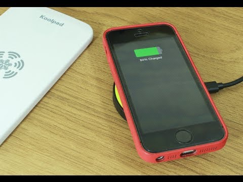 iQi Mobile - Wireless Charging for iPhone 5, 5s and 5c