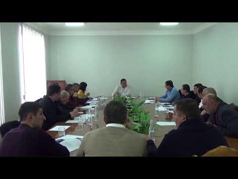 Եղվարդ համայնքի ավագանու նիստ 29․01․2020