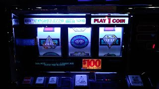 Mountaineer Racino High Limit Old School Slots, $100 Slot, China Shore, Pictures of Jackpots Handpay