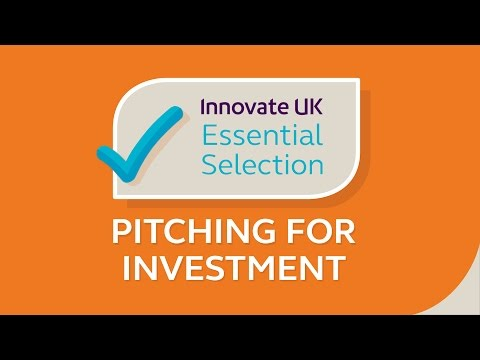 Innovate UK's essential tips on pitching for investment for start-ups and small businesses