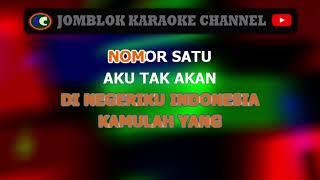 Perempuan Paling Cantik Di Negeriku Indonesia karaoke