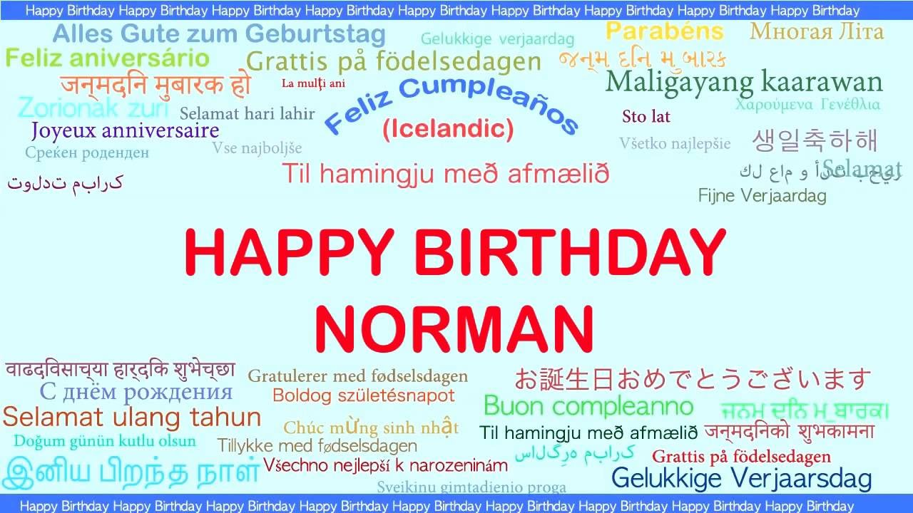 Birthday Greeting In Different Languages Youtube