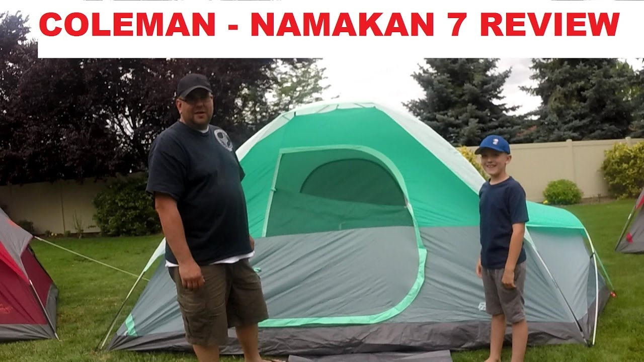 outlet store 38af7 67c06 Coleman - Namakan 7 Tent Review