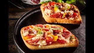 Evde Ekmek Pizza Kahvaltı için Pratik Lezzet