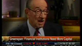 Greenspan Comments on U.S. Unemployment and Bank Lending