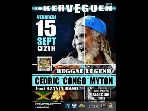 "CEDRIC ""CONGO"" MYTON And AZANIA BAND Live @ Le Kerveguen 2017"