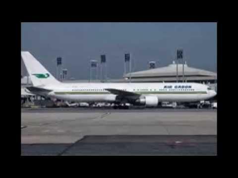 La flotte d'air Gabon