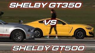 Shelby GT350 vs Shelby GT500