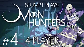 Moon Hunters - #4 - Love Ending (4 Player Moon Hunters Gameplay) [FINAL]