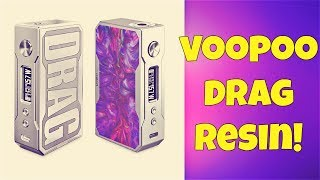 VooPoo Drag RESIN Mod First Impressions!